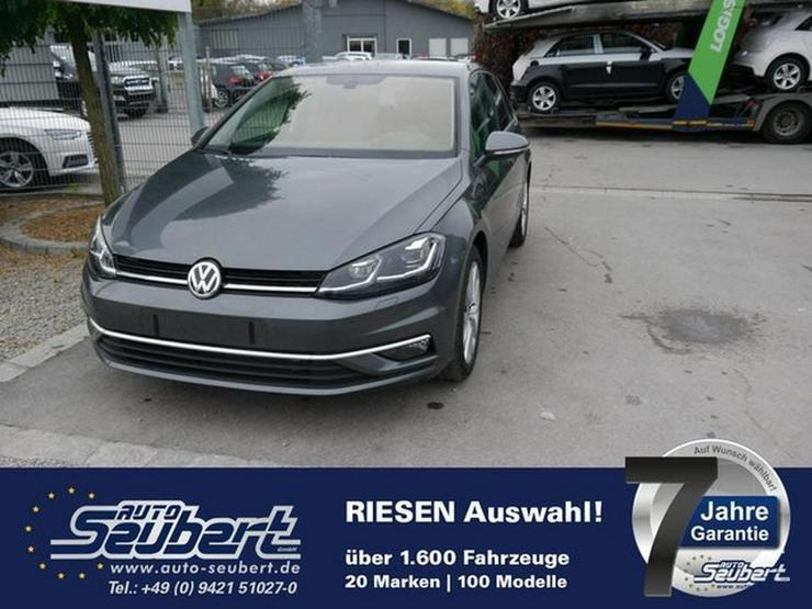 VW Golf VII 2.0 TDI DPF HIGHLINE * ACC * NAVI * LED-SCHEINWERFER * PDC * SHZG * ACTIVE INFO DISPLAY