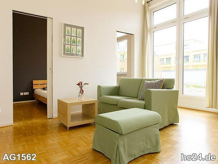 * TERRASSE + SÜDEN + Möblierte Wohnung in Leipzig + LIFT