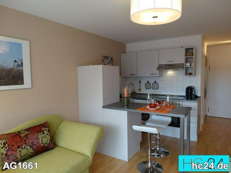* zentrum süd + möbliertes Appartement Leipzig + tiefgarage + balkon