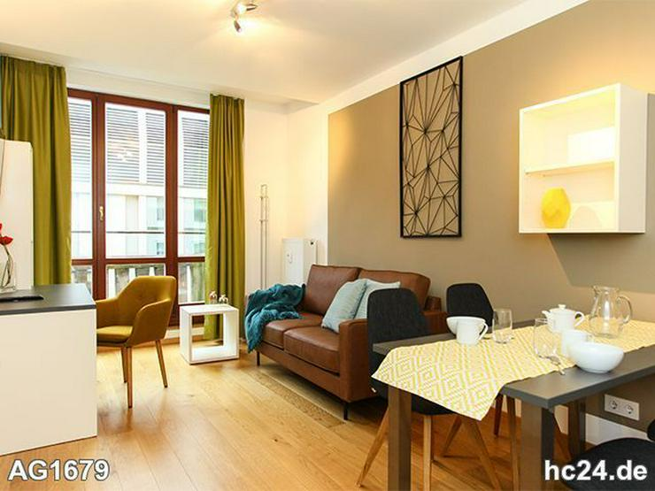 * Möblierte Apartments Leipzig + BALKON + Zentrum + TG-Stellplatz + WiFi