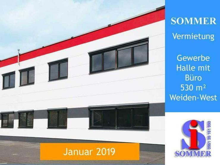 Gewerbeobjekt 530 m² modern vielseitig nutzbar - Weiden-West