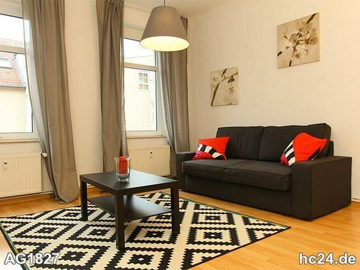 * Möblierte Wohnung im Norden von Leipzig + INTERNET + PKW-Stellplatz