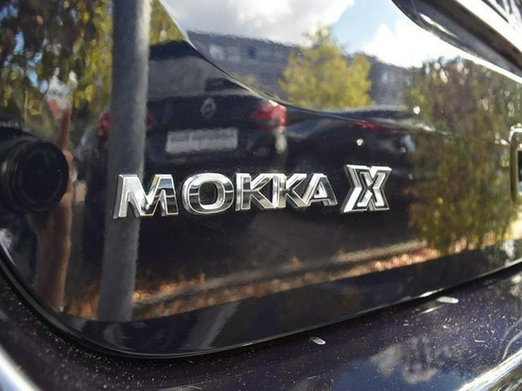 Bild 9: OPEL Mokka X 1.4 T AT LED/Leder/Navi900-Cam/19Zoll/Lenk-SHZ/Keyless/OnStar/Verks./Temp/GSD/BC/BT/NSW