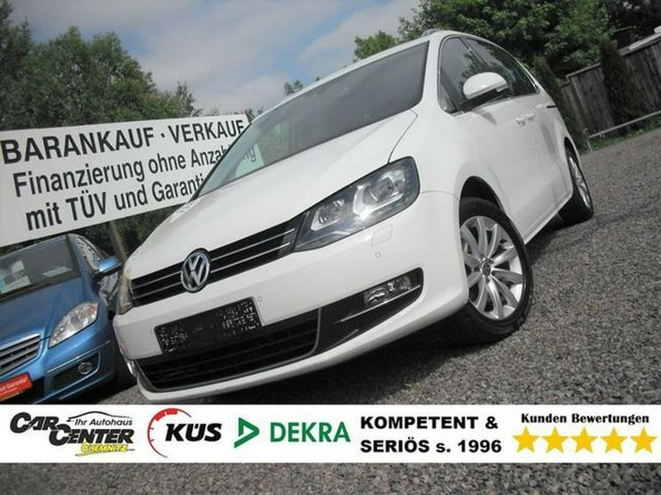 VW Sharan 2,0 TDI Highline *PANO*XENON*AHK*TÜV NEU*