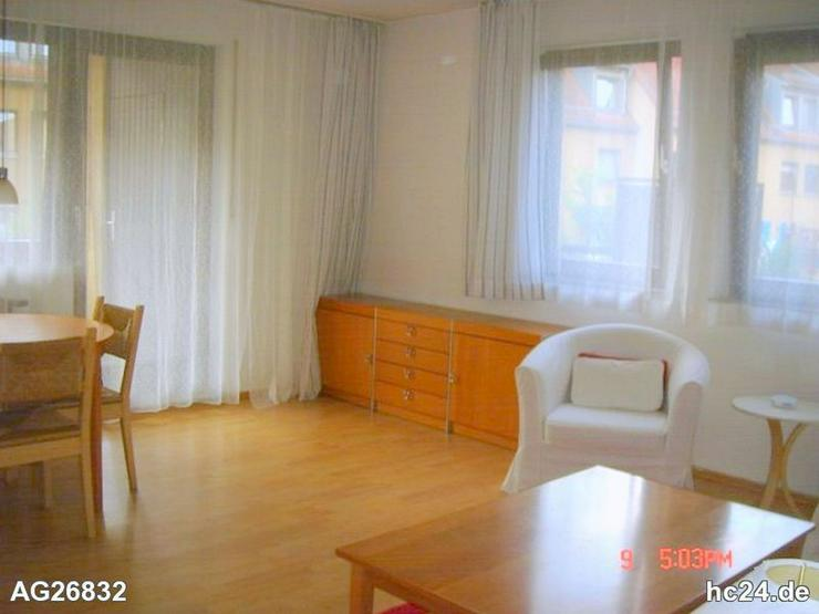 Bild 6: Gemütlich möblierte 2-Zimmer-Wohnung mit Balkon und WLAN in Erlangen