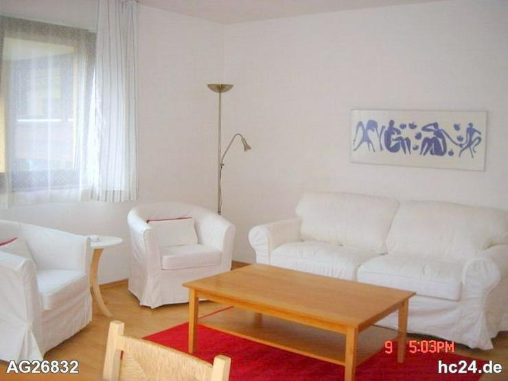 Gemütlich möblierte 2-Zimmer-Wohnung mit Balkon und WLAN in Erlangen - Wohnen auf Zeit - Bild 1