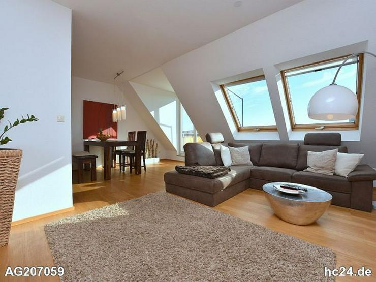 Sonnige, modern möblierte Wohnung mit Balkon in Korntal-Münchingen