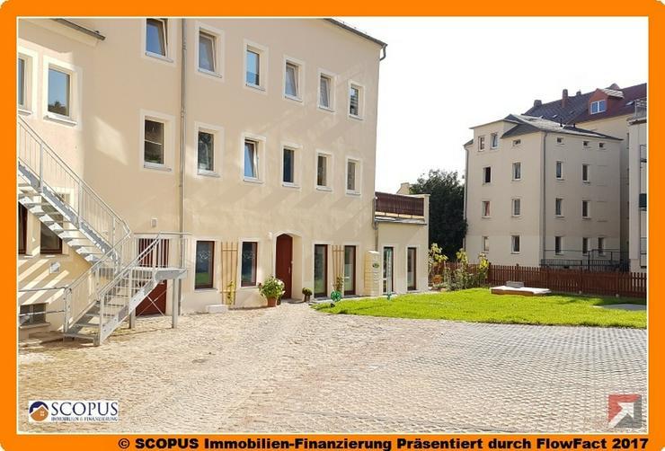 Komfortable 2-Raum-Wohnung mit gemütlichem Sitzbereich und Grillplatz im Innenhof