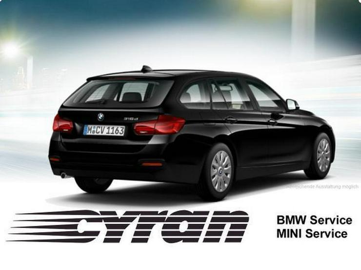 Bild 2: BMW 316d Touring Advantage Navi LED Sitzh.Freisprech