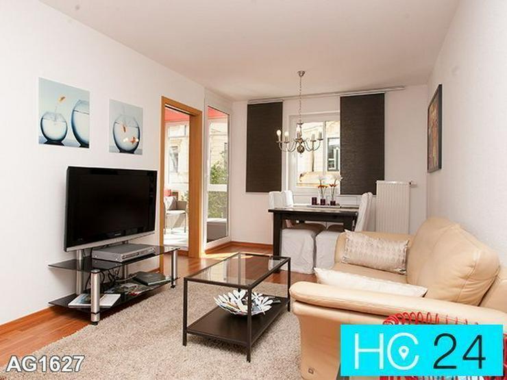* hotelalternative in Leipzig + city + möblierte 2-raum-wohnung + tg-stellplatz