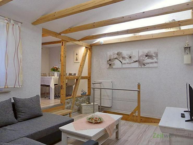 (EF0446_M) Erfurt: Gispersleben, neu möblierte Wohnung über 2 Etagen, ruhige Lage, Dachb... - Wohnen auf Zeit - Bild 1