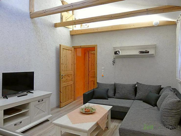 Bild 2: (EF0446_M) Erfurt: Gispersleben, neu möblierte Wohnung über 2 Etagen, ruhige Lage, Dachb...