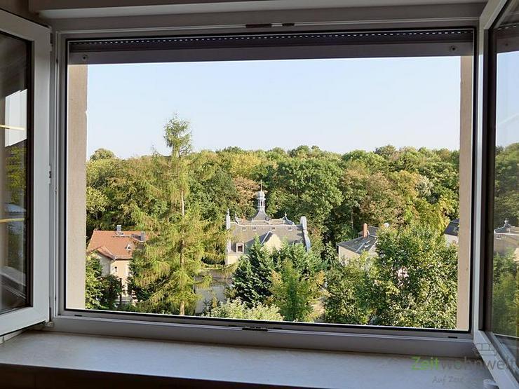 (EF0424_M) Dresden: Briesnitz, große möblierte 3-Zimmer-Wohnung in grüner, ruhiger Wohn...