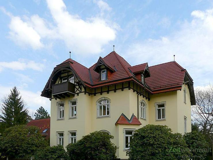 (EF0335_M) Dresden: Klotzsche, möblierte 3-Zimmer-Etagenwohnung mit Balkon im traumhaft s...