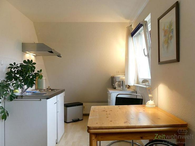 (EF0416_M) Dresden: Klotzsche, kleines möbliertes Apartment auf der ruhigen Gartenseite, ...