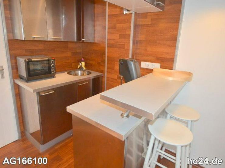 Möblierte 2-Zimmer Wohnung mit Balkon und Flatscreen - TV in Wiesbadener City - Wohnen auf Zeit - Bild 1