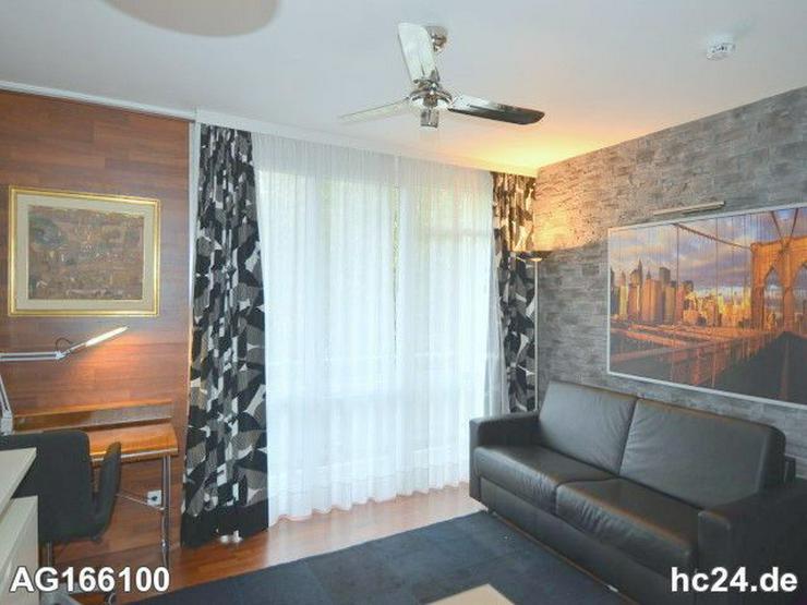 Bild 2: Möblierte 2-Zimmer Wohnung mit Balkon und Flatscreen - TV in Wiesbadener City