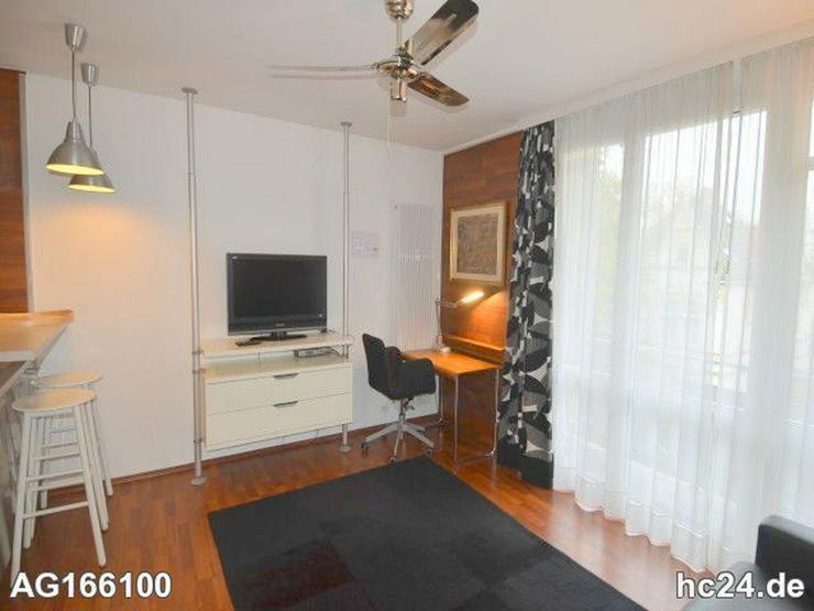Bild 3: Möblierte 2-Zimmer Wohnung mit Balkon und Flatscreen - TV in Wiesbadener City