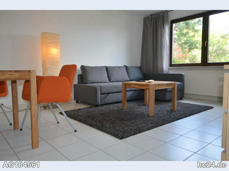 Möbliertes 1-Zimmer mit PKW-Stellplatz, Terrasse und W-Lan in Ockenheim