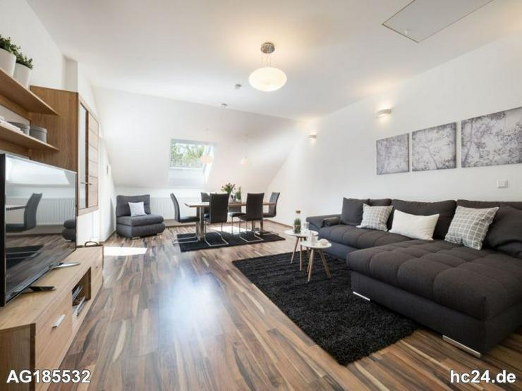 Möblierte 3-Zimmer Wohnung mit Dachterrasse, Internet und 2 Schlafzimmern in Mainz