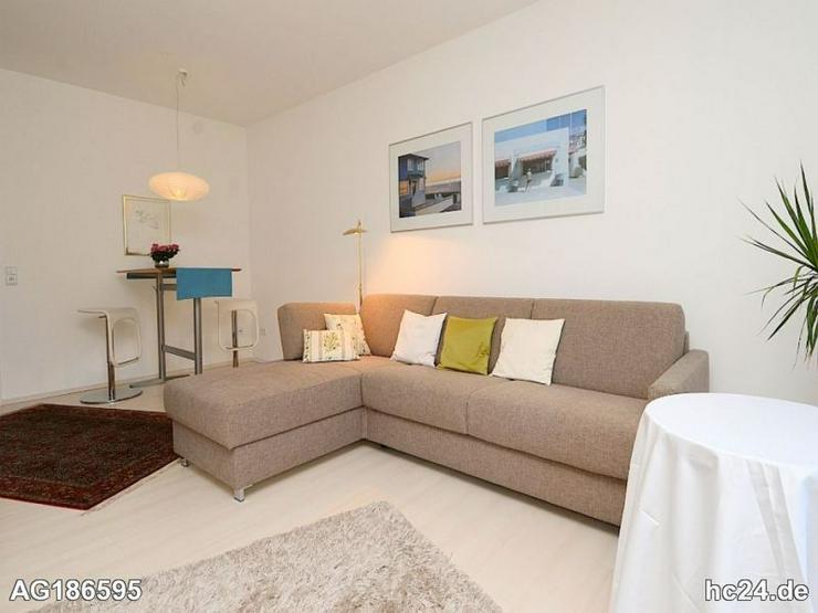 Möblierte 1-Zimmer Wohnung mit Internet und Balkon in Wiesbaden