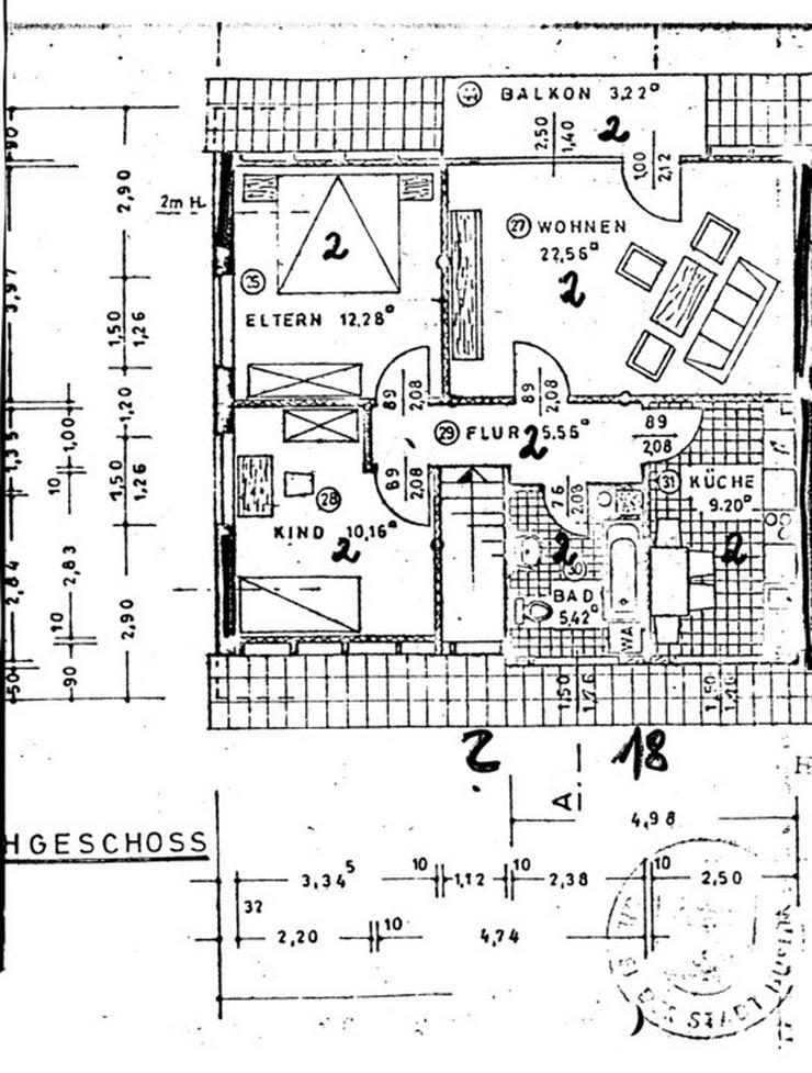 Bild 11: Ruhige drei Zimmer Wohnung in Husum Rödemis