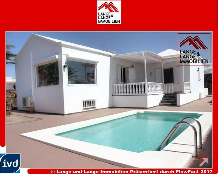 Lanzarote - Puerto del Carmen - Luxus-Villa in Bestlage mit Meerblick - Spanien Immobilien