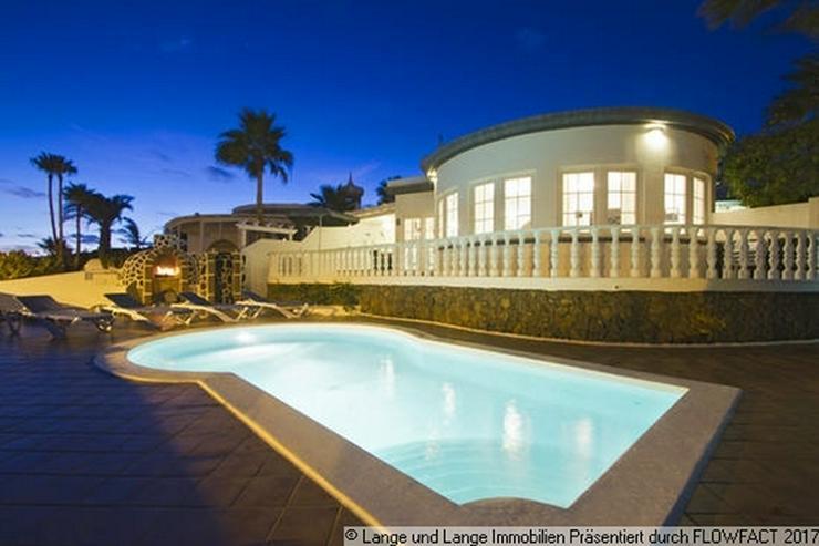 Bild 4: Lanzarote - Puerto del Carmen - 1. Meereslinie - hochwertige Villa - Spanien Immobilien