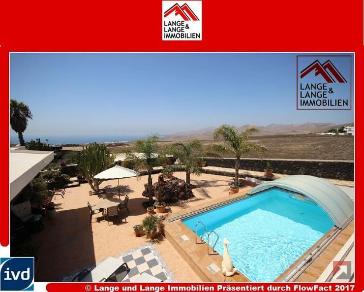 Lanzarote - Macher - Ein Traum - hochwertige Landvilla mit Panoramablick - Spanien Immobil...
