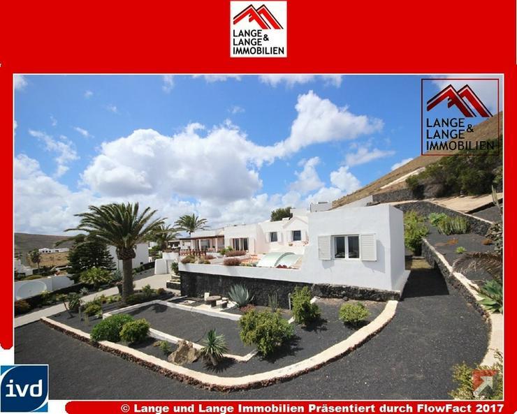 Lanzarote - Tias - Conil - Villa mit Panoramablick und Pool auf Terrassengrundstück - Spa...