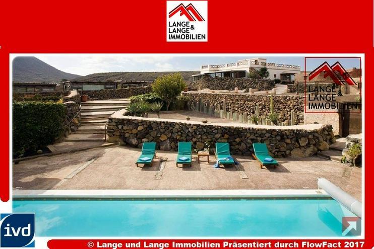Lanzarote - Ye - Hoya de la Pila - voll lizenziertes Landgut mit 6 Gästehäusern - Spanie...