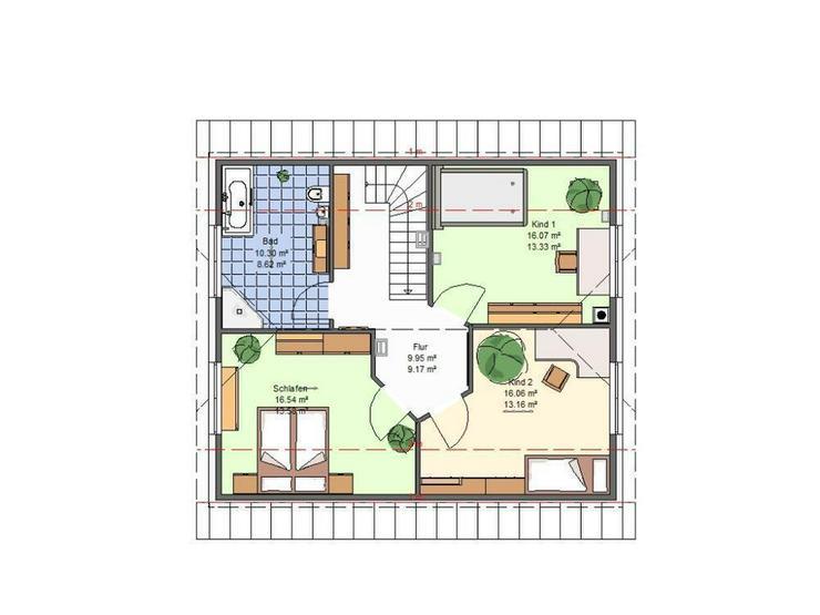 Bild 6: Wohnen im grünen Radensleben *Haus Hortensie**, inkl. Luftwärmepumpe