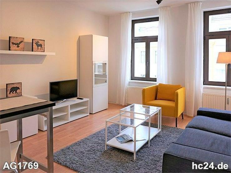 * süd-gohlis + möbliertes wohnen Leipzig + balkon + nahe rosental + wifi