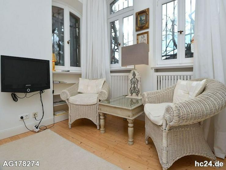 Möblierte 2-Zimmer Wohnung mit Garten, Internet und PKW-Stellplatz in Wiesbaden