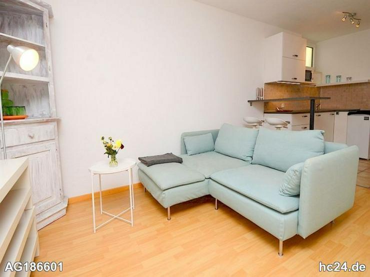 Möblierte 1-Zimmer Wohnung mit Internetanschluss und Terrasse in Bodenheim
