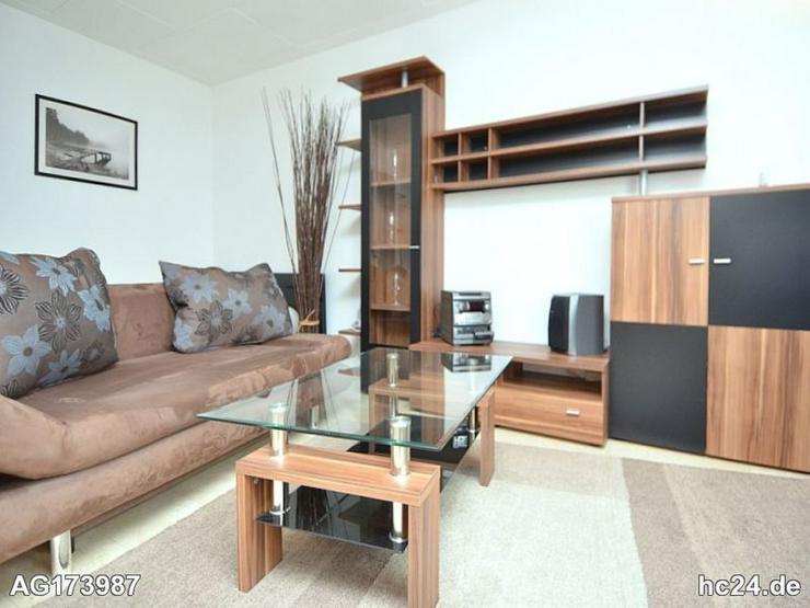 Möblierte 1-Zimmer Wohnung mit Fußbodenheizung in Walluf