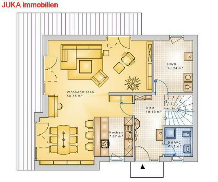 Bild 4: Satteldachhaus als ENERGIE-Plus-Speicher-HAUS ab 1076,- EUR