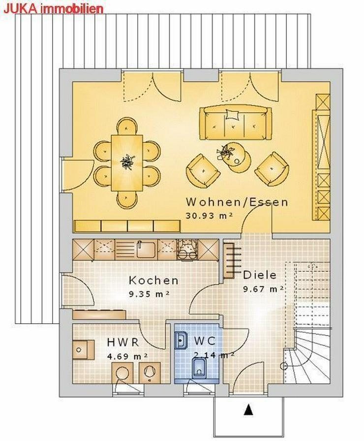 Bild 2: Wohnen wo andere Urlaub machen -- Satteldachhaus als ENERGIE-Plus-Speicher-HAUS ab 1266.-E...
