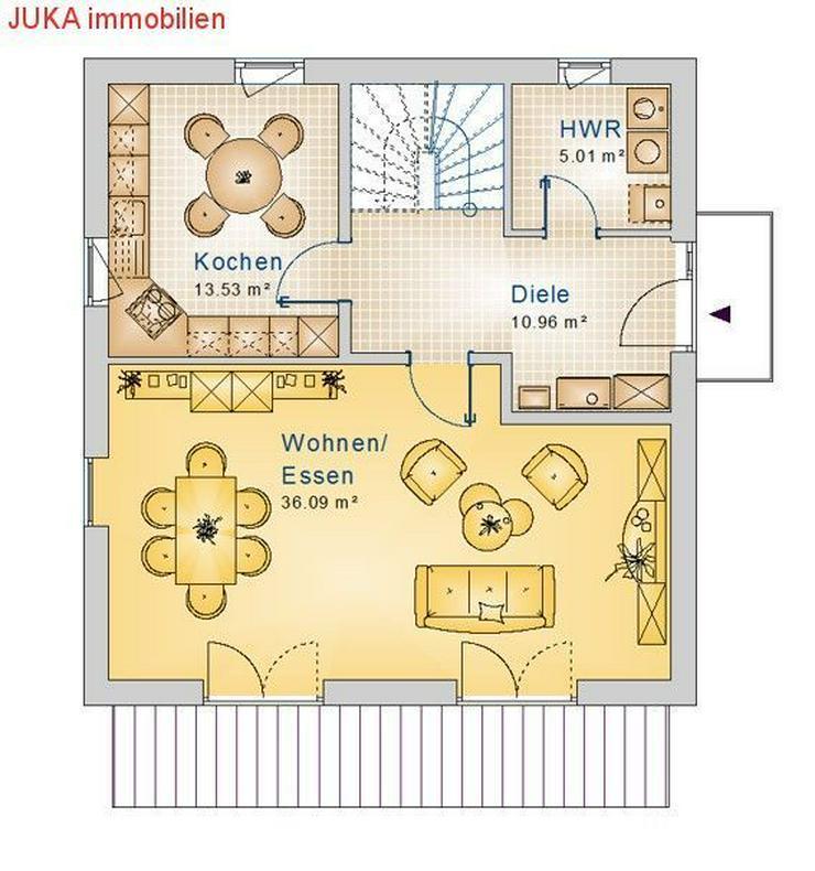 Bild 2: Satteldachhaus 100 in KFW 55