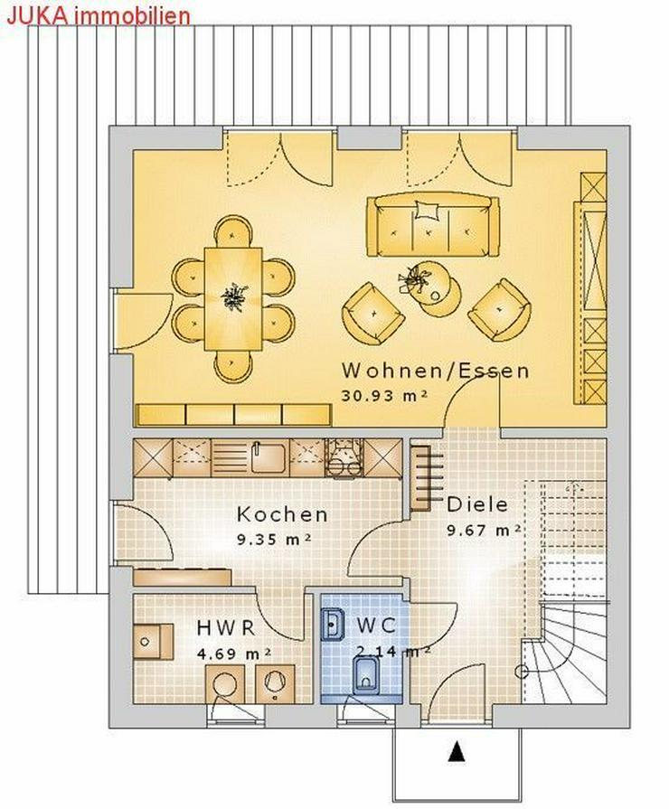 Bild 2: Satteldachhaus 150 in KFW 55, Mietkauf/Basis ab 626,-EUR mt.