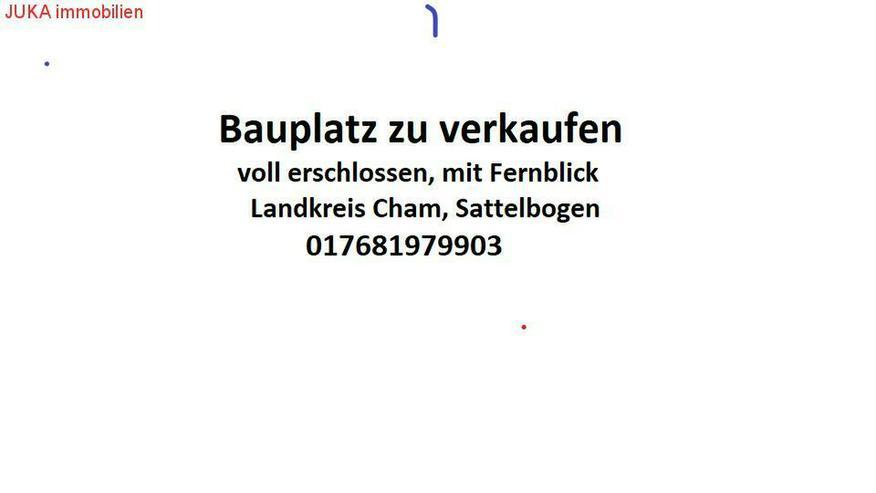 Erschlossener Bauplatz im Landkreis Cham, Traitsching/Sattelbogen