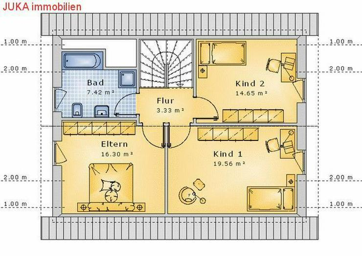 Bild 4: Satteldachhaus als ENERGIE-Plus-Speicher-HAUS ab 665,- EUR