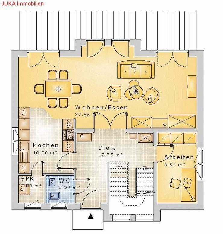 Bild 2: Satteldachhaus 130 in KFW 55, Mietkauf ab 885,-EUR mt.