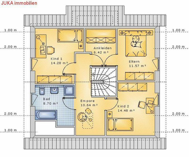 Bild 3: Satteldachhaus 130 in KFW 55 mit ELW ! Mietkauf ab 988,-EUR mtl.