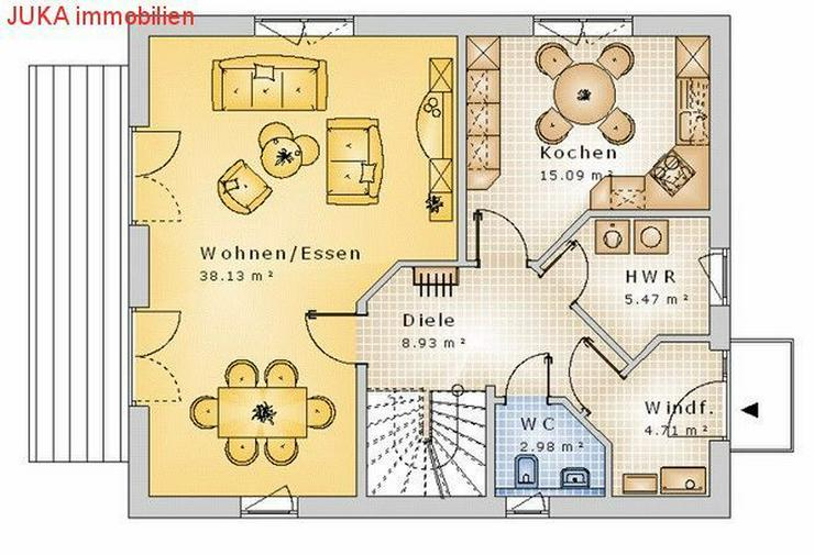 Bild 2: Satteldachhaus 130 in KFW 55, Mietkauf ab 988,-EUR mtl.