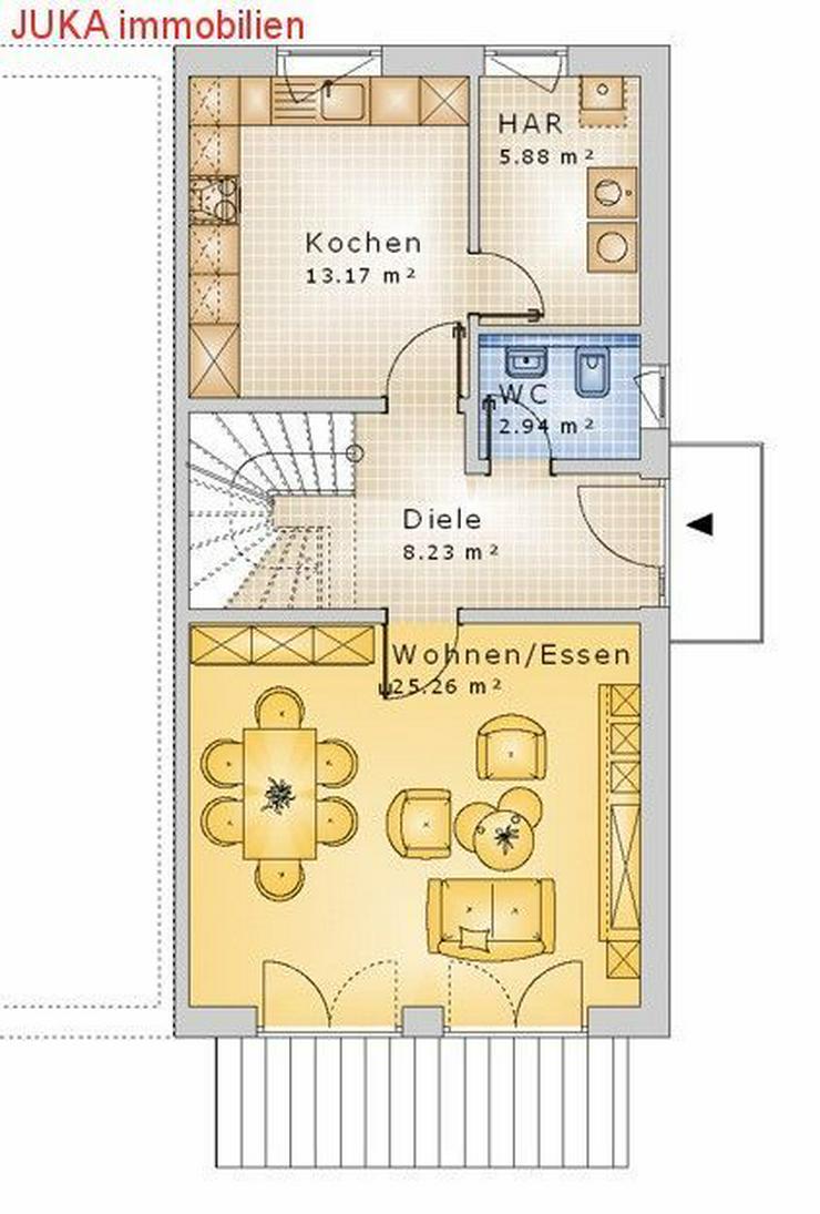 Bild 3: Doppelhaushälfte Energie *Speicher* Haus 130 in KFW 55, Mietkauf ab 890,-EUR mtl.