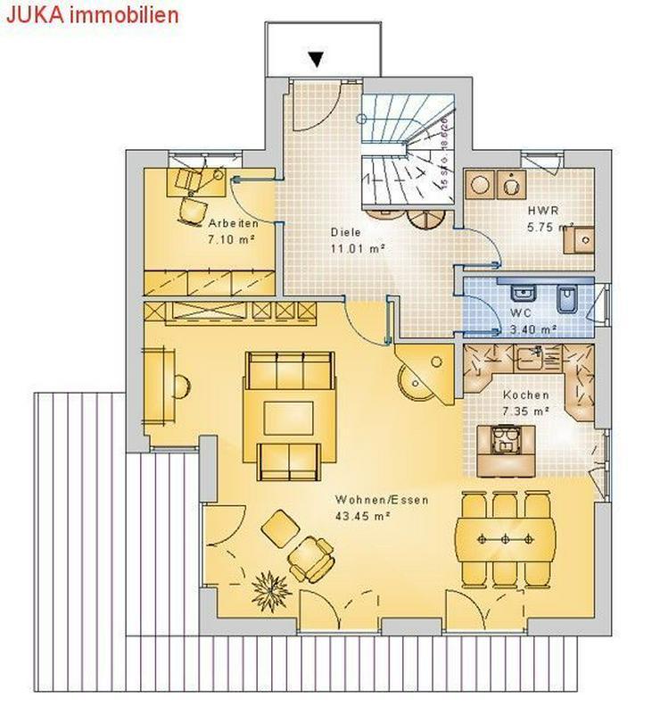 Bild 3: Energie *Speicher* Haus * individuell planbar * 130qm KFW 55, Mietkauf