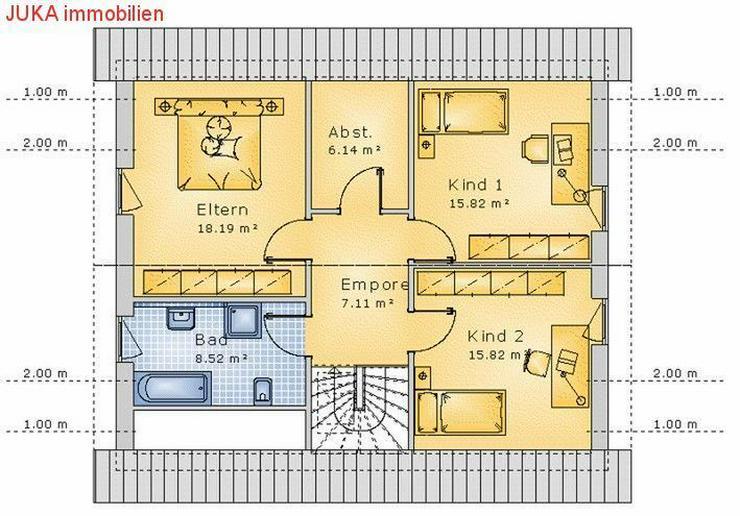 Bild 3: Satteldachhaus individuell planbar 130 in KFW 55, Mietkauf ab 975,-EUR mtl