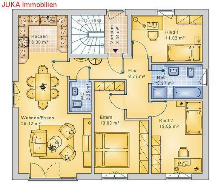Bild 3: Energie *Speicher* 2 Wohneinheiten - Haus 160 *schlüsselfertig* KFW 55, Mietkauf