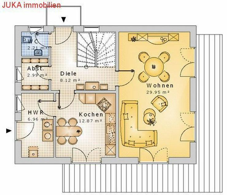 Bild 3: Satteldachhaus als ENERGIE-Plus-Speicher-HAUS ab 1106,- EUR